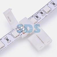 Коннектор стыковочный для RGB светодиодных лент шириной 10 мм LAMPER
