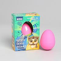 """Растущие животные в яйце """"Сова"""""""