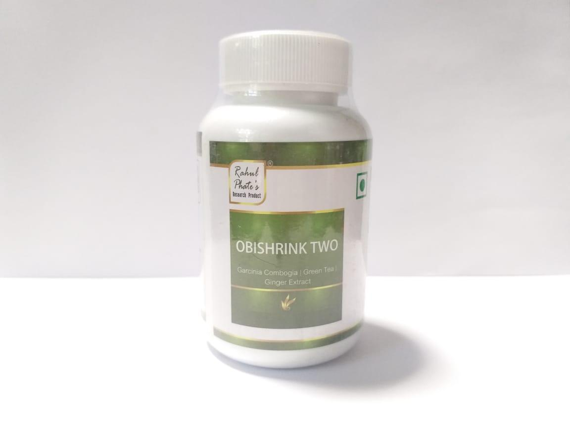 Капсулы Obishrink Two, Rahul, 50 гр, для здорового обмена веществ