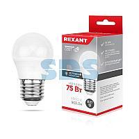Лампа светодиодная Шарик (GL) 9,5 Вт E27 903 Лм 6500 K нейтральный свет REXANT
