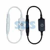 Сенсорный диммер/выключатель с коннектором 5,5х2,1 мм