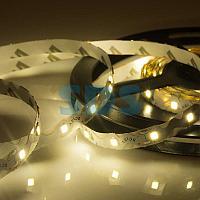 LED лента 12 В,  6 мм,  S-образная плата,  IP23, SMD 2835, 60 LED/m,  цвет свечения теплый белый (3000 К)