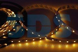LED лента открытая,  8 мм,  IP23, SMD 2835, 60 LED/m,  12 V,  цвет свечения желтый