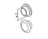 Заглушка декоративная крепежных отверстий AYPC.111.0903