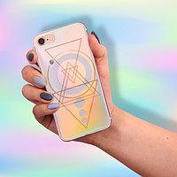 Чехол для телефона iPhone 7 с эффектом Space Odyssey, 6.5 × 14 см