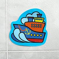 Наклейка для игры в ванной «Корабль»