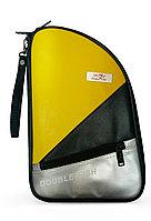 Чехол желтый DOUBLE FISH для теннисной ракетки