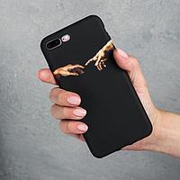 Чехол для телефона iPhone 7/8 plus «Сотворение Адама», 7,7 х 15,8 см