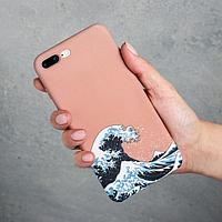 Чехол для телефона iPhone 7/8 plus «Большая волна», 7,7 х 15,8 см