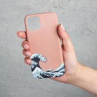 Чехол для телефона iPhone 11 pro «Большая волна», 7,14 х 14,4 см