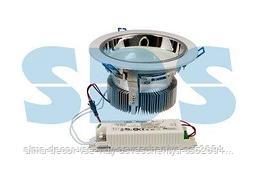 """Светильник светодиодный """"Downlight"""",  встраиваемый,  мощность 20W,  312 SMD 3528 светодиода,  напряжение 220V,"""