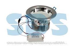 """Светильник светодиодный """"Downlight"""",  встраиваемый,  мощность 10W,  132 SMD 3528 светодиода,  напряжение 220V,"""