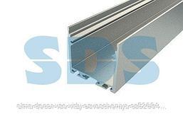 Профиль накладной алюминиевый 3535-2, 2 м REXANT