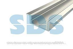 Профиль врезной алюминиевый 2207-2 2 м REXANT