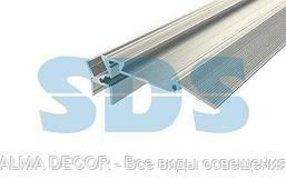 Профиль для ступеней алюминиевый 7928-2, 2 м REXANT