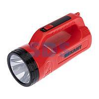 Прожектор поисковый с головным и боковым светом,  с солнечной батареей,  индикатор зарядки,  выносное зарядное