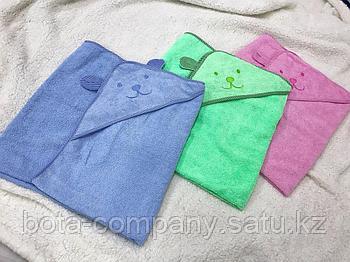 Детское полотенце угольник