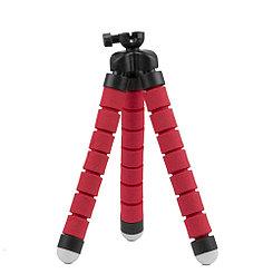 Держатель для телефона трипод гибкий, V1 Mini, Red