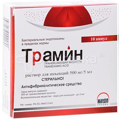 Трамин 5% 500мг 5мл №10 амп