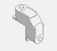 Угловой соединитель 0419/250 для створки двери