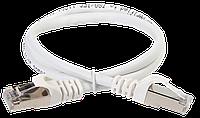 Коммутационный шнур (патч-корд), кат.5Е FTP, 5м, белый (экранированный)