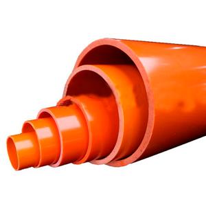 Негорючая труба ПНД ПЭ-80 SDR21-PN8 900 мм гладкая