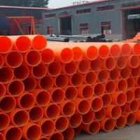 Негорючая труба из ПВХ PN4 63 мм гладкая