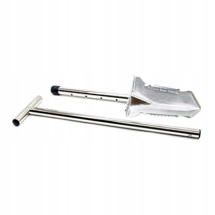 Лопата премиальная удлиненная NOKTA MAKRO сталь