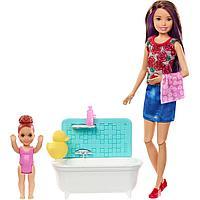 Кукла Barbie Няня с ванной