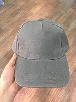 Бейсболки с металлической застёжкой / Серые кепки