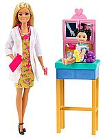 Кукла Barbie Кем стать? Врач-педиатр