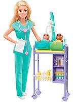 Кукла Barbie Кем стать? Детский доктор