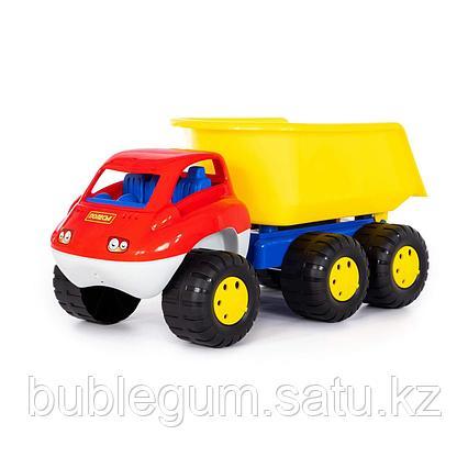 Детская игрушка автомобиль-самосвал с прицепом (в пакете) Дакар