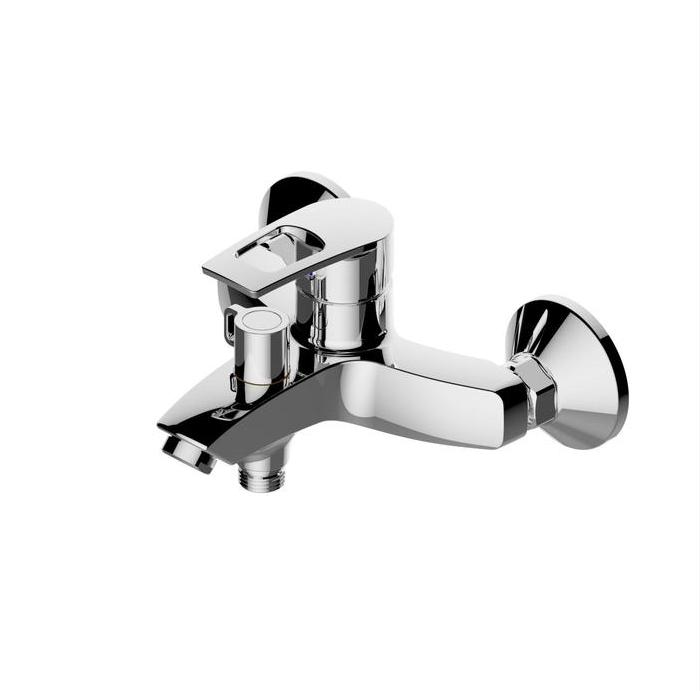 Смеситель для ванны ESKO LEON LN 54, с коротким изливом, без аксессуаров, цвет хром
