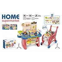 """Игровой набор """"Супермаркет с тележкой для покупок"""" (Pituso, Испания)"""