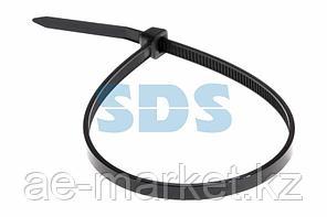 Хомут-стяжка кабельная нейлоновая REXANT 300 x3,6 мм,  черная,  упаковка 100 шт.