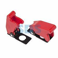 Защитная крышка для тумблеров типа KN и ASW красная REXANT