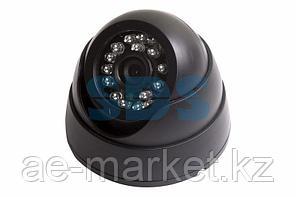 Купольная камера видеонаблюдения с ИК- подсветкой