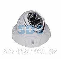 Купольная камера AHD 2.1Мп Full HD (1080P),  объектив 2.8 мм. ,  ИК до 20 м.
