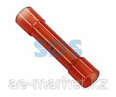 Соединительная гильза изолированная L-27.3 мм нейлон 0.5-1.5 мм² (ГСИ(н) 1.5/ГСИ-н 0,5-1,5) красная