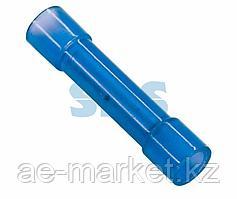 Соединительная гильза изолированная L-27.3 мм нейлон 1.5-2.5 мм² (ГСИ(н) 2.5/ГСИ-н 1,5-2,5) синяя REXANT