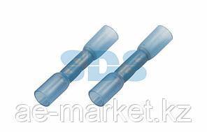 Соединительная гильза изолированная термоусаживаемая L-37 мм 1.5-2.5 мм² (ГСИ-т 2.5/ГСИ-т 1,5-2,5) синяя