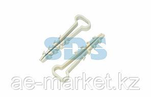 Дюбель-хомут нейлоновый прямоугольный PROconnect 5-10 мм,  белый,  упаковка 100 шт.