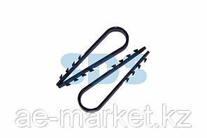 Дюбель-хомут нейлоновый PROconnect 5-10 мм,  черный,  упаковка 100 шт.