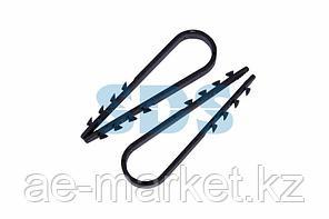 Дюбель-хомут нейлоновый PROconnect 19-25 мм,  черный,  упаковка 100 шт.