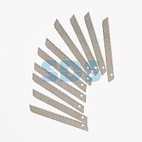 Сегментированное лезвие 9 мм 10 шт.  REXANT