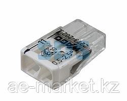 2273-202 Экcпресс-клемма,  2-проводная до 2,5 мм²,  (100 шт. /уп. ) WAGO