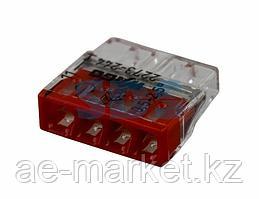 2273-244 Экcпресс-клемма с пастой,  4-проводная до 2,5 мм²,  (100 шт. /уп. ) WAGO