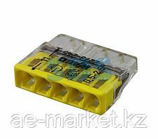 2273-245 Экcпресс-клемма с пастой,  5-проводная до 2,5 мм²,  (100 шт. /уп. ) WAGO