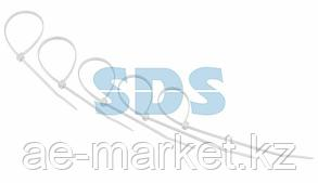 Хомут-стяжкa нeйлонoвая REXANT 200x3,6 мм,  белая,  упаковка 25 шт.